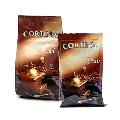 Cortina Cafe Club 100 gr si 250gr