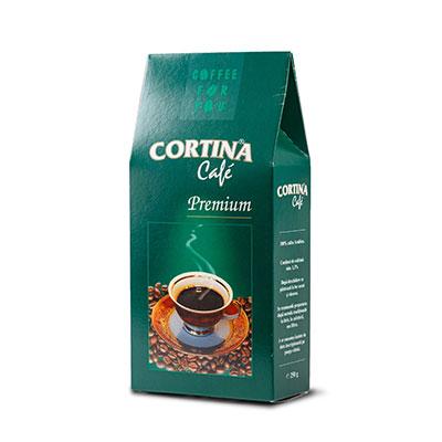 Cafea macinata vidata